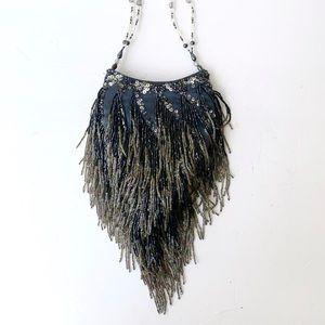 Vintage Jessica McClintock Beaded Handbag